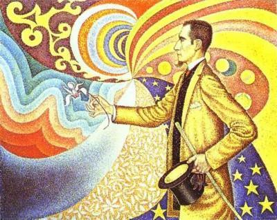 Paul Signac. Portrait of F�lix F�n�on, etc.