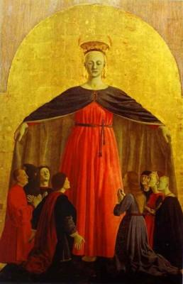 Piero della Francesca. Madonna of Mercy.