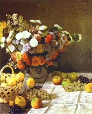 Claude Monet. Flowers and Fruits.