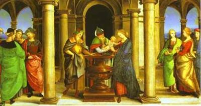 Raphael. Presentation in the Temple.