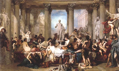 Thomas Couture. Romans of the decadence.