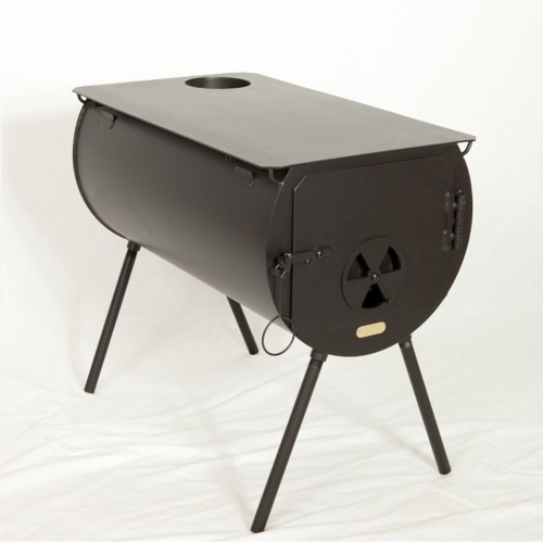 Bon Emergency Operation Of A Portable Camping Wood Stove Inside ...